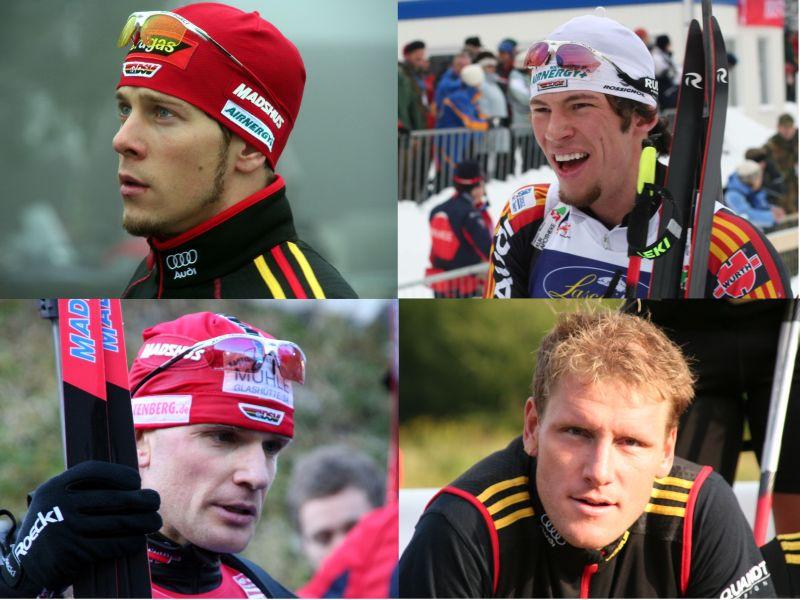 Daniel Graf, Christoph Knie, Carsten Pump und Jörn Wollschläger