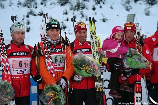 Das österreichische Team