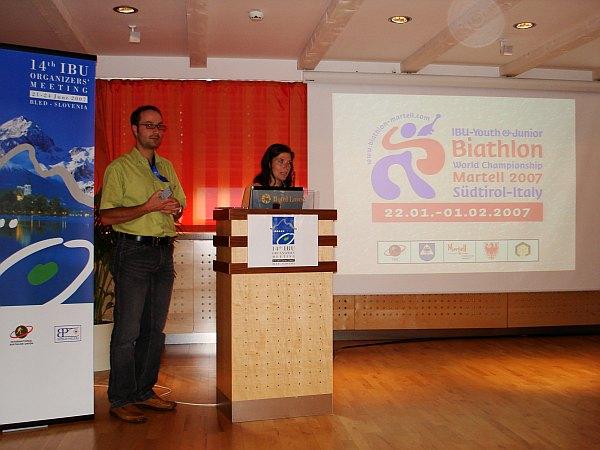 Die Delegierten von Martell in Bled