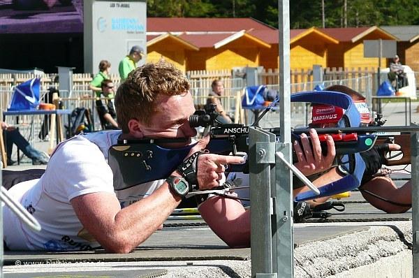 Schlussläufer der siegreichen Staffel: Florian Graf