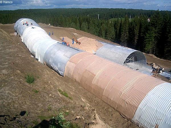Skitunnel in Khanty Mansiysk