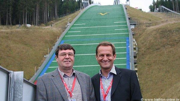 Alfons Hoermann und Thomas Pfueller