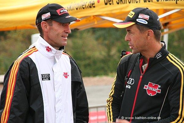 Frank Ullrich und Remo Krug
