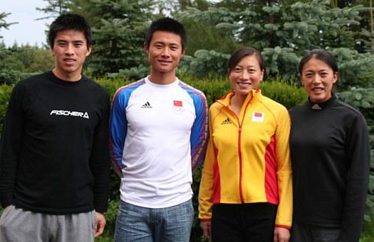 Das chinesische Team