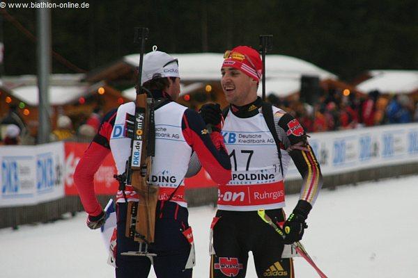Ludwig Erhart und Manuel Mueller