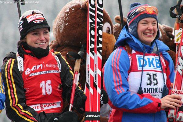 Andrea Henkel und Ekaterina Iourieva