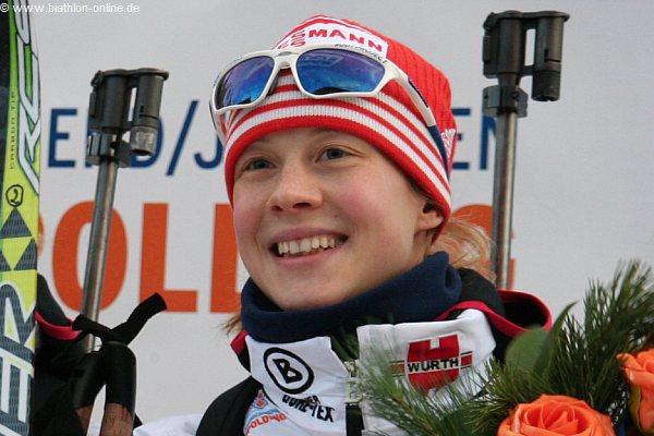 Janin Hammerschmidt gab heute ihren Rücktritt zum Ende der Saison vom Biathlonsport bekannt