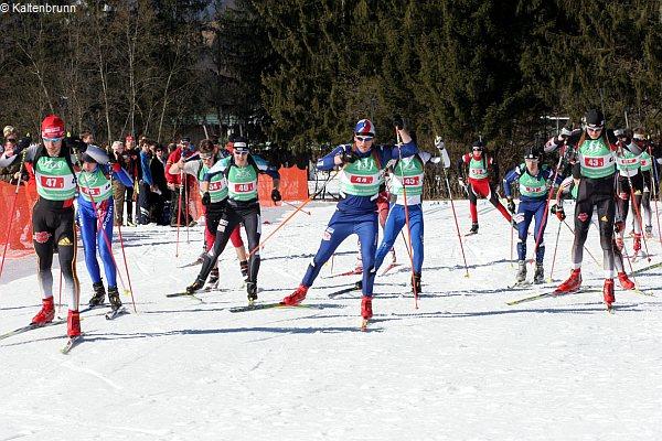 Staffelstart in Kaltenbrunn