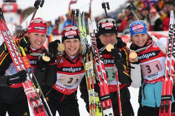 Staffelsieg für deutsche Damen