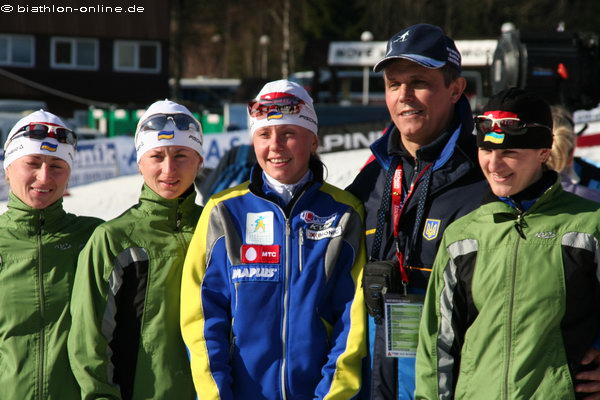 Ukrainische Frauen-Mannschaft