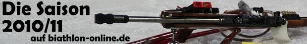 Biathlon-Saison 2010/2011