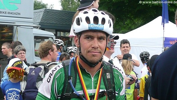 Michael Greis bei der Bike Trans Germany