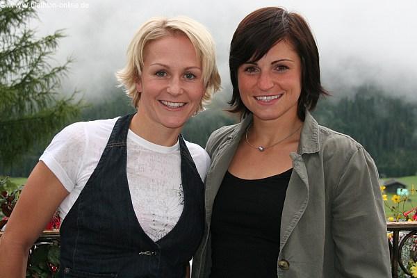 Martina Beck und Andrea Henkel