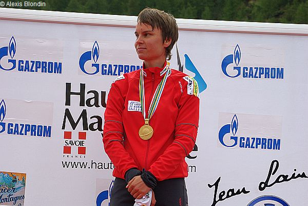 Teja Gregorin 2008 in Haute Maurienne