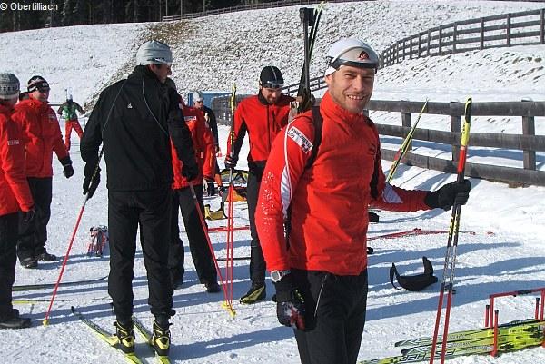 Österreichische Vorbereitung in Obertilliach
