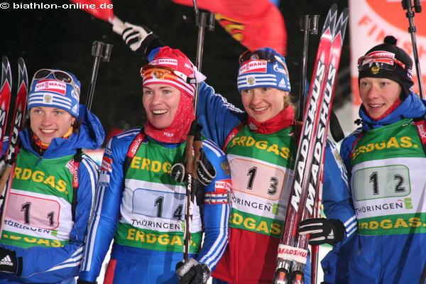 Dritter Sieg für russische Damen