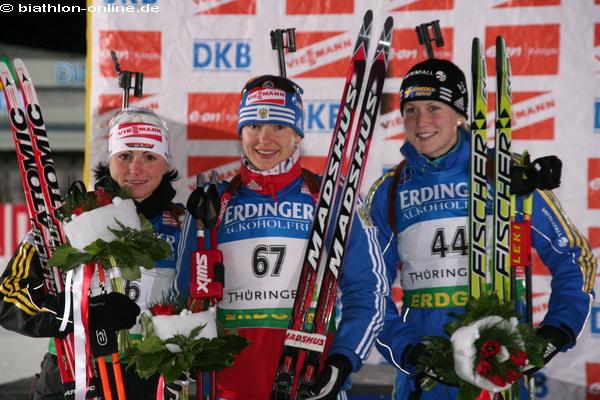 Siegerinnen des Damen-Sprints