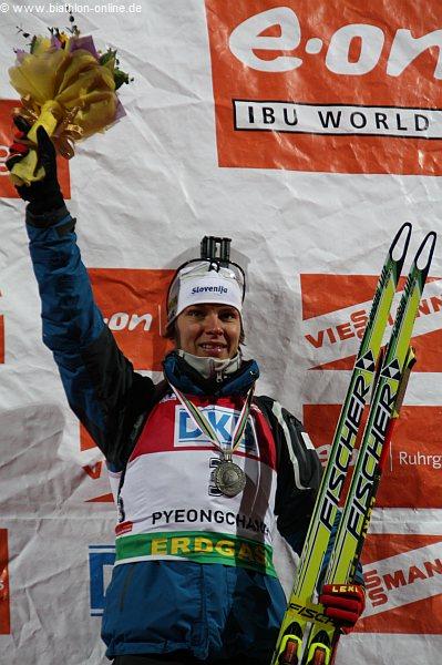 Einzel-Silber 2009: Teja Gregorin