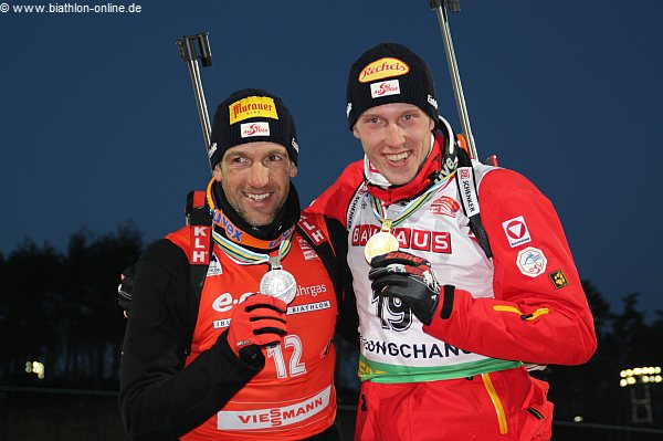 Christoph Sumann und Dominik Landertinger
