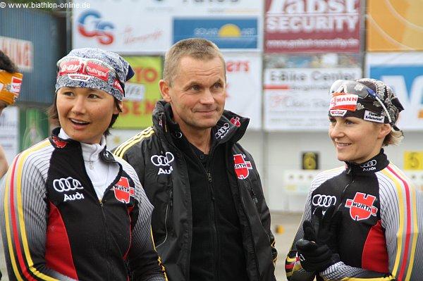 Martina Beck beim Entega-Team Biathlon