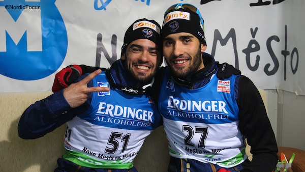 Simon und Martin Fourcade