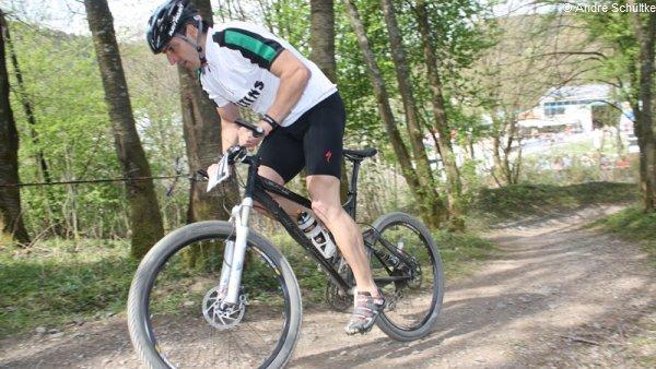 Ricco Groß beim Veltins Bike Biathlon