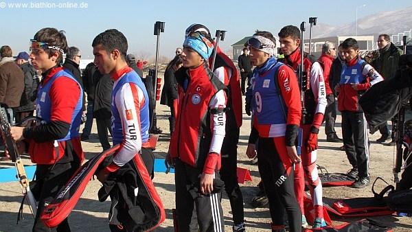 Biathlon in der Türkei