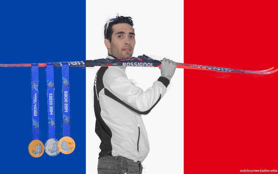 Martin Fourcade, Biathlon