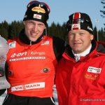 Dominik Landertinger (AUT) und Reinhard Goesweiner (AUT)