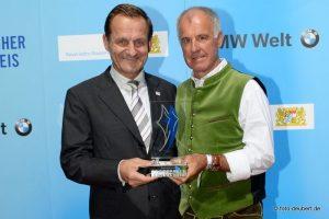 Alfons Hörmann und Fritz Fischer - Bayerischer Sportpreis 2014