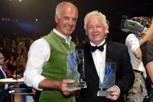 Fritz Fischer und Sigi Heinrich - Bayerischer Sportpreis 2014
