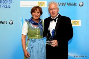 Rosi Mittermaier und Sigi Heinrich - Bayerischer Sportpreis 2014