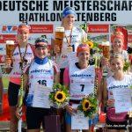 DM Altenberg 2014 - Sieger Sprint Damen