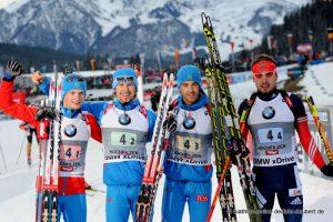 Staffel RUS - 1. Platz Hochfilzen 2014