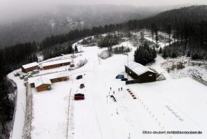 Hohenzollern Skistadion -  Arber/Bayer. Wald