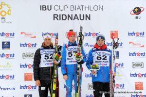 Podium Sprint Ridnaun 2015