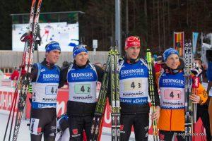 Simon Schempp (GER), Andreas Birnbacher  (GER), Arnd Peiffer (GER), Eric Lesser (GER)