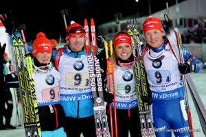 2. Platz Mixed Staffel Nove Mesto 2015 Team CZE