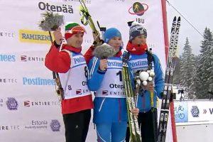 Gewinner Verfolgung Herren Otepää 2015