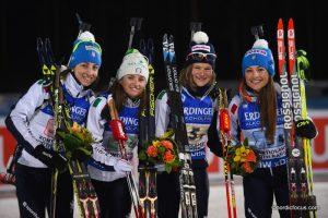 Lisa VITTOZZI (ITA), Karin OBERHOFER (ITA), Nicole GONTIER (ITA), Dorothea WIERER (ITA)