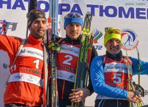 Martin Fourcade (FRA) - Anton Shipulin (RUS) - Evgenjy Garanichev (RUS)