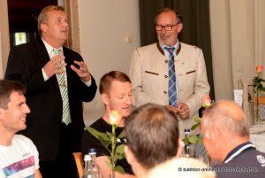 Empfang DSV-Team Sonnenhotel Fürstenbauer Bodenmais