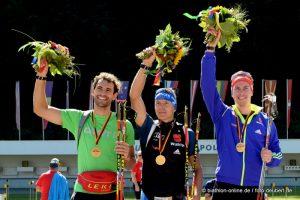 1. Platz Staffel Herren DM Ruhpolding - Willeitner-Birnbacher-Kühn