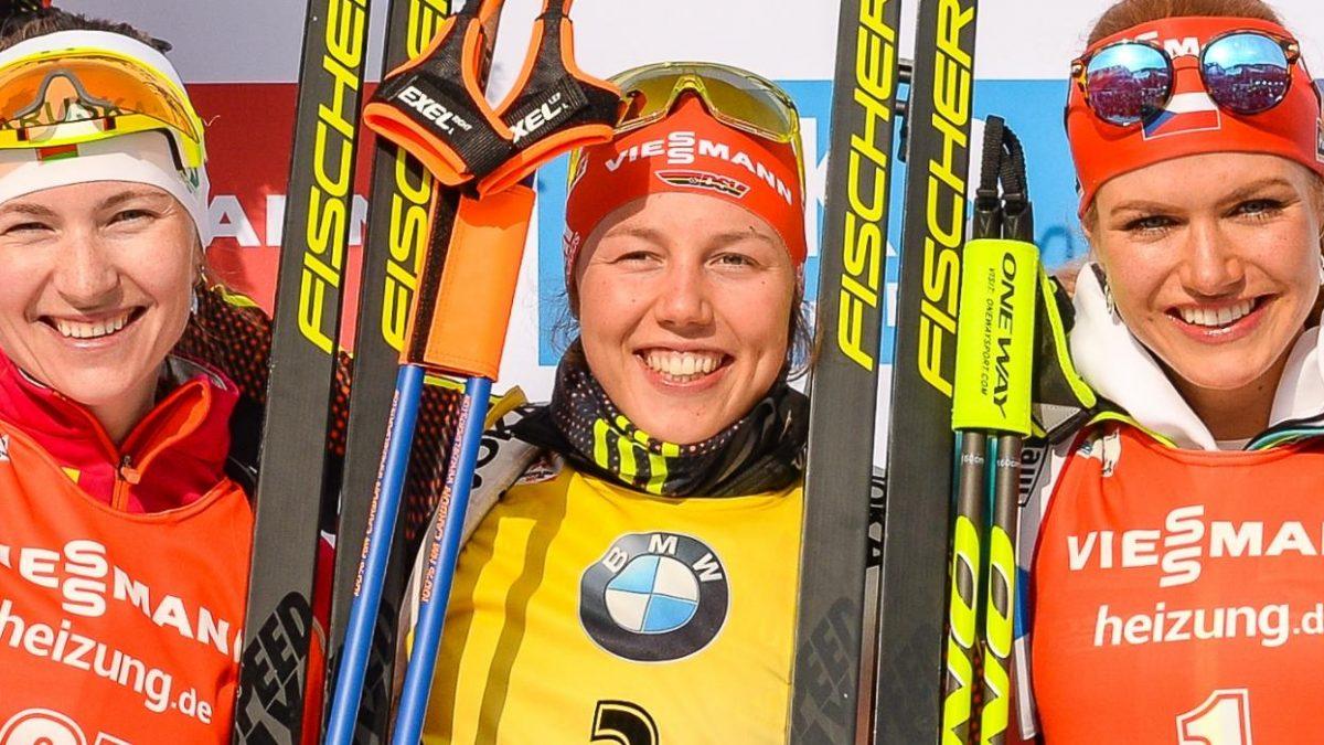 Laura Dahlmeier Sieg Verfolger Hochfilzen WM