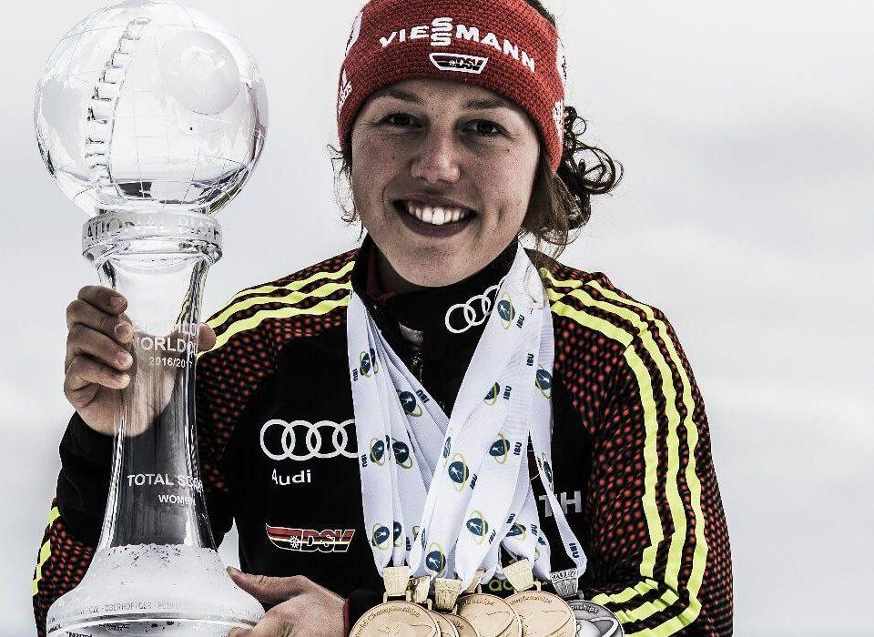 Laura Dahlmeier Weltcupgesamtsieg