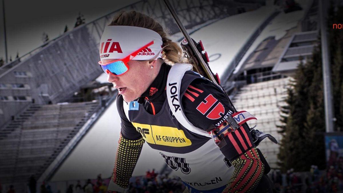 Nadine Horchler IBU Cup Sprint Sjusjoen
