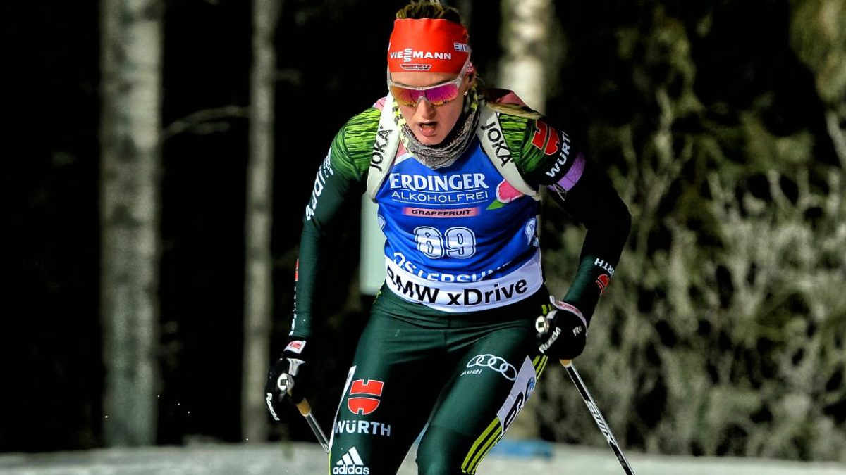 Denise Herrmann Sprint Oestersund 2017