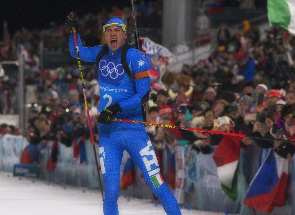 Arnd Peiffer Platz 4 Mixed Staffel Olympia