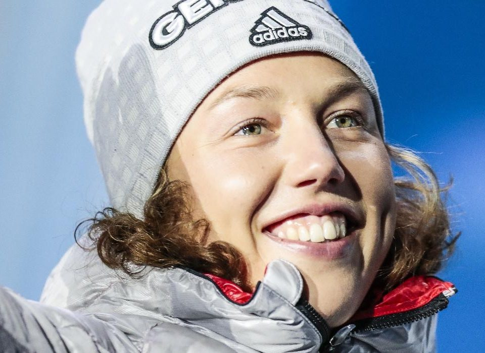 Laura Dahlmeier Goldmedaille
