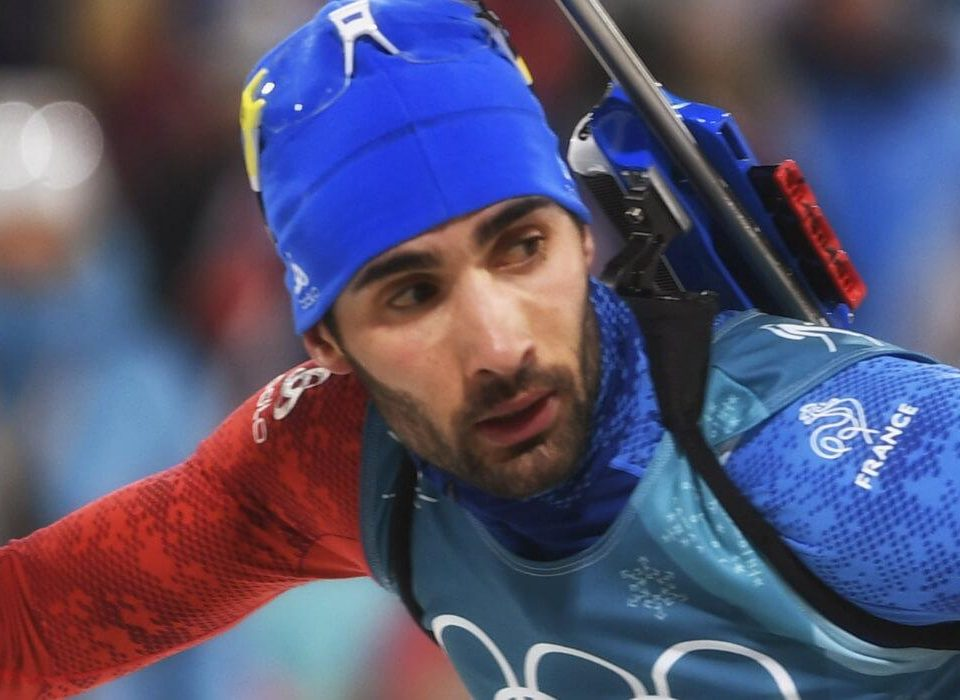 Martin Fourcade Mixed Staffel Olympia 2018